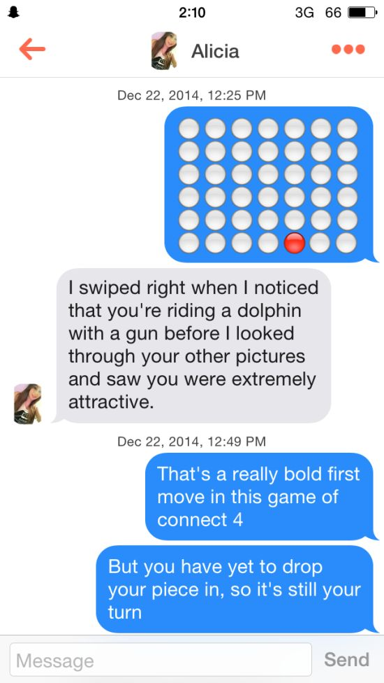 This Guy Used Connect Four To Get Numbers On Tinder