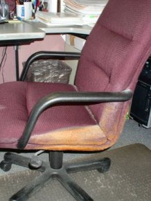 This Chair Was Covered In Cheetos For Many Years