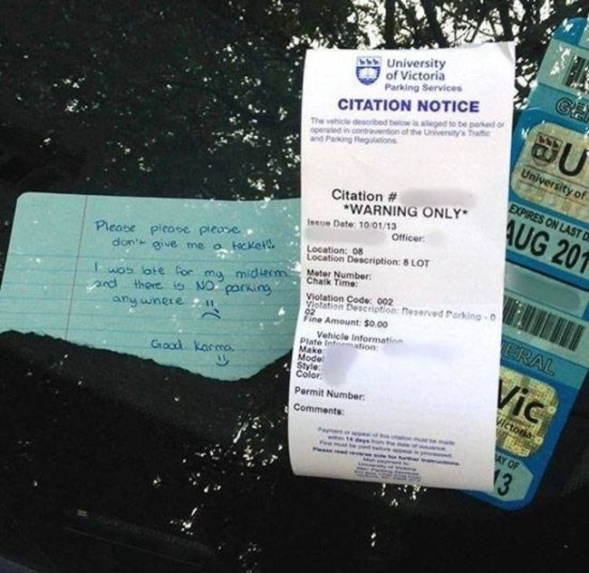 How To Get Out Of A Parking Ticket In Canada