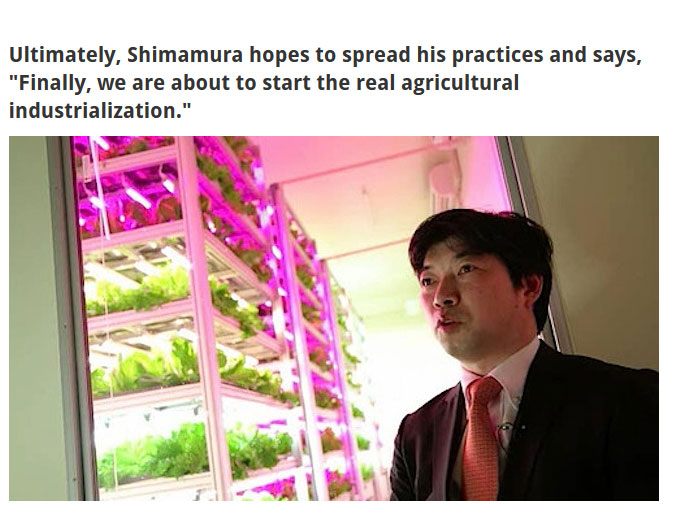This Japanese Scientist Has Created An Amazing Indoor Farm