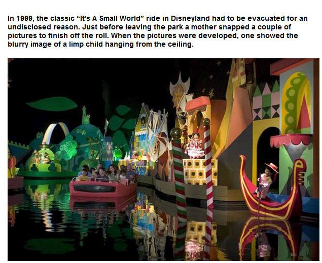 Attractions At Disney Parks That Are Believed To Be Haunted