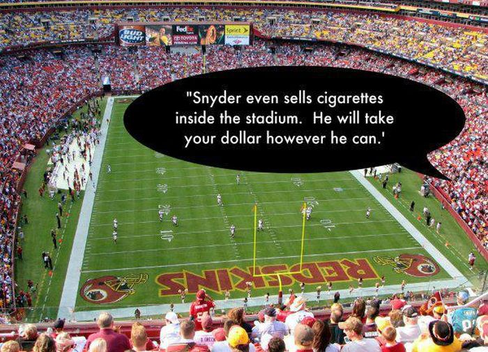 The Best One Star Yelp Reviews Of Every Team's NFL Stadium