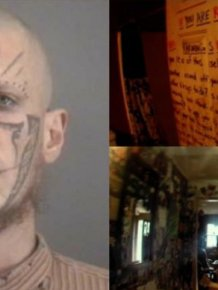 Inside The Home Of A Twisted Devil Worshipper