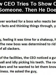CEO Tries To Make A Point But Ends Up Making A Huge Mistake