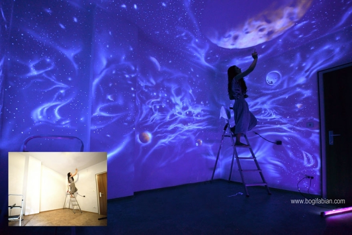 These Rooms Transform Into Something Incredible When The Lights Go Out