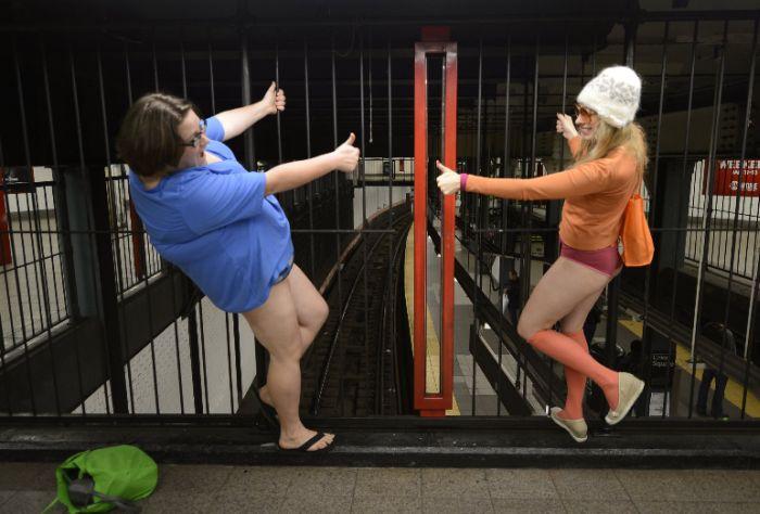 The No Pants Subway Ride Of 2015 Was A Huge Success