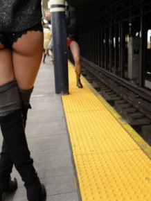 The No Pants Subway Ride Of 2015 Was A Huge Success