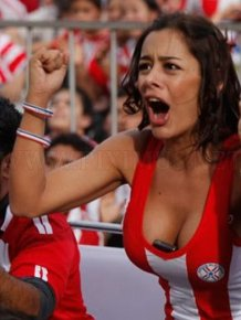 Larissa Riquelme and the Phone in Her Cleavage