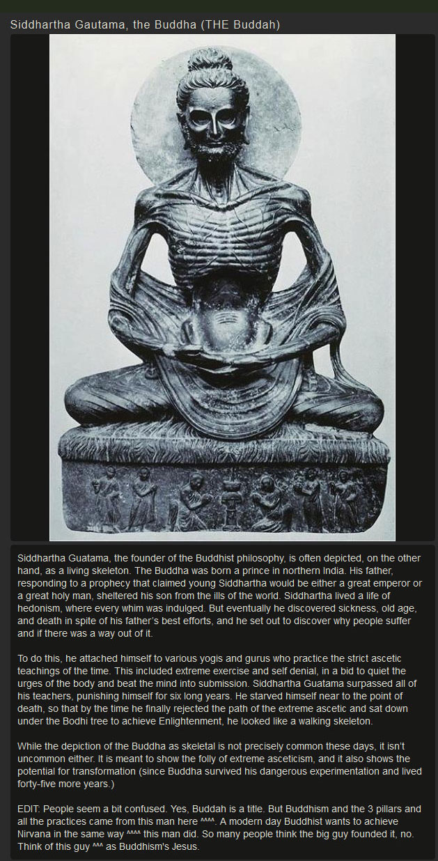 Real Facts About The Real Buddah