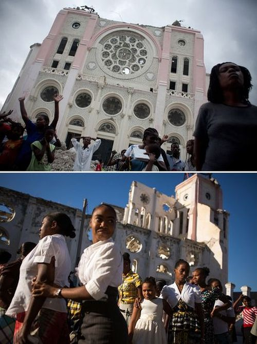 Haiti Before And After The Earthquake
