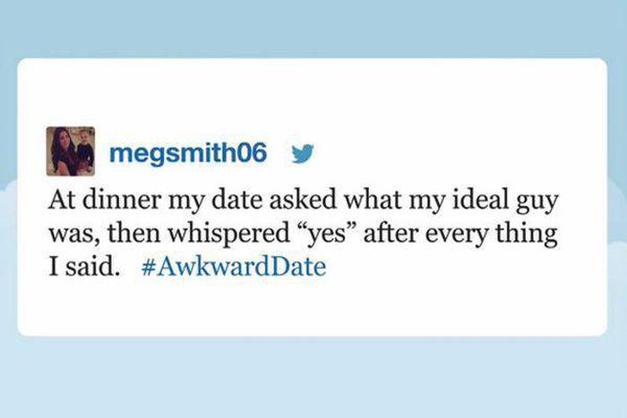 Twitter Describes Their Awkward First Dates