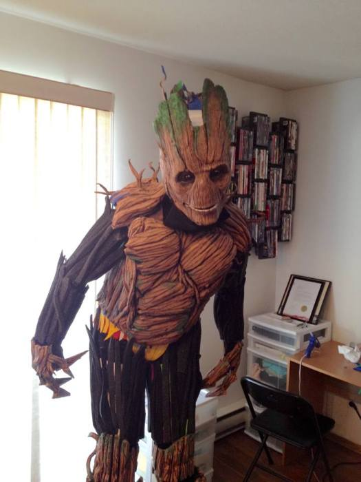 This Groot Costume Is Simply Incredible