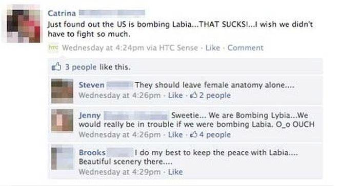 Facebook Typos Gone Horribly Wrong