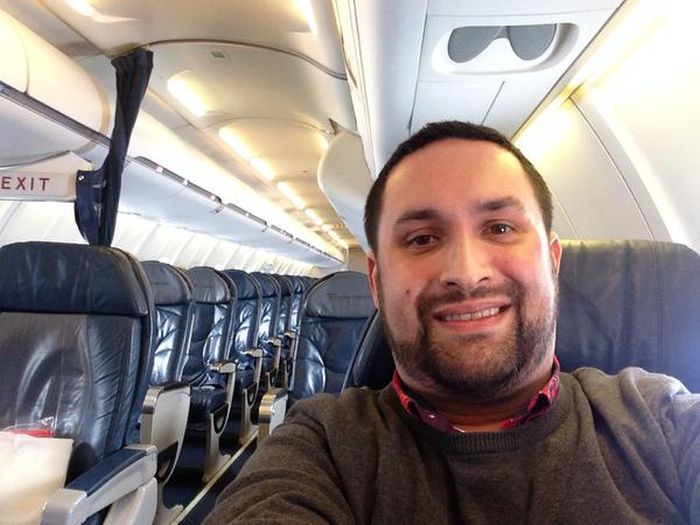 Forget First Class, This Guy Got The Plane To Himself