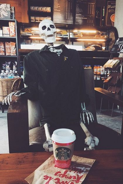 This Skeleton Represents Every Girl On Instagram