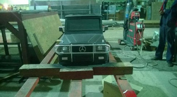 This Mercedes Is Ready To BBQ