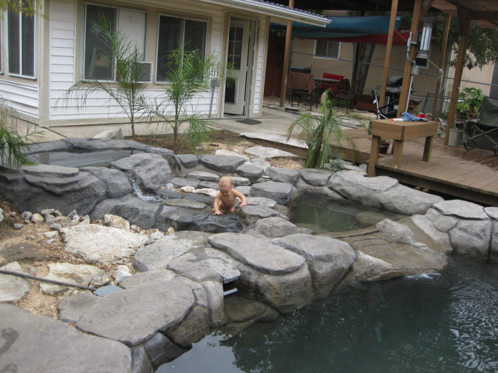 Man Turns Grief Into An Amazing Tropical Pool