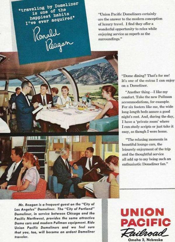 Ronald Reagan As An Advertising Spokesman Before He Was President