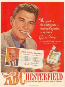 Ronald Reagan As An Advertising Spokesman Before He Was President