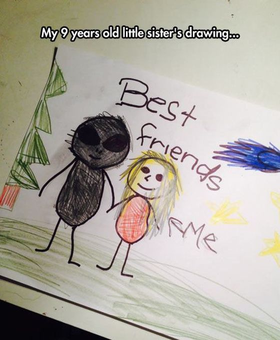 Funny Drawings From Kids