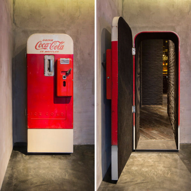 There's Something Awesome Hidden Behind This Coke Machine