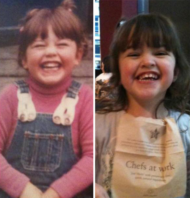 Parents That Looked Exactly Like Their Kids When They Were Younger, part 2