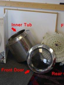 How to Turn a Broken Washing Machine Into An Aquarioum