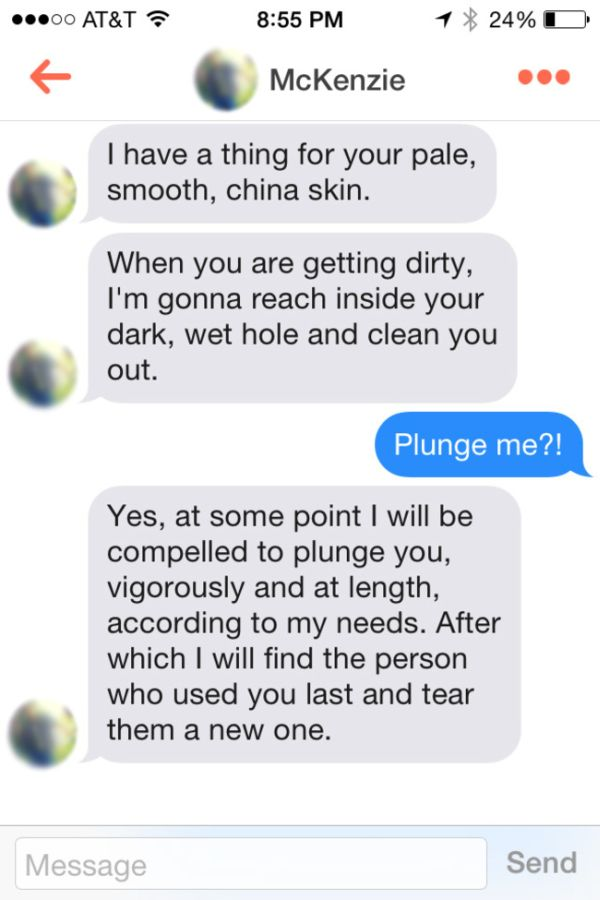Man Gets Over 200 Matches Posing As A Toilet On Tinder