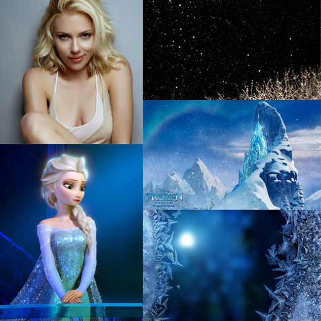 Celebrities as Real-Life Disney Characters