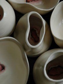 This Sculptor Adds Fingers And Mouths To Ceramics