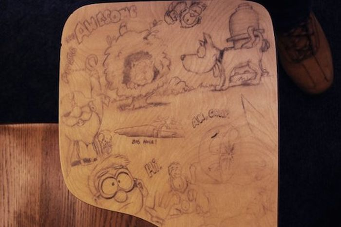 These Aren't Your Average Desk Doodles, This Is Art