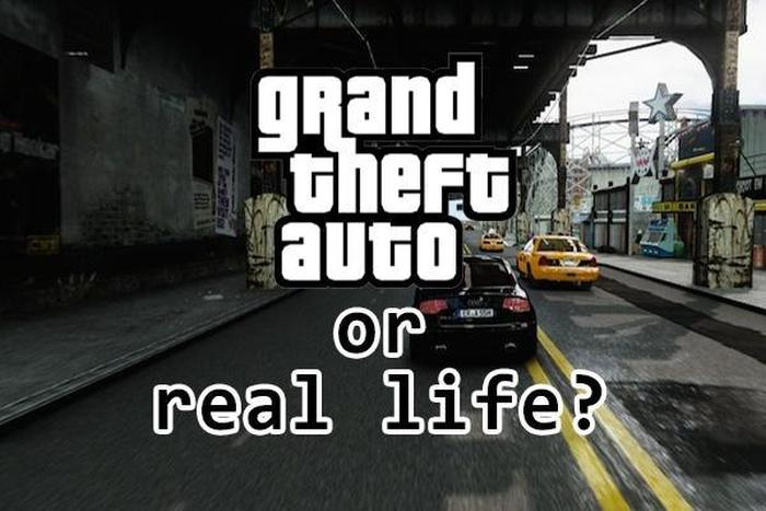 Is This Grand Theft Auto Or Real Life?