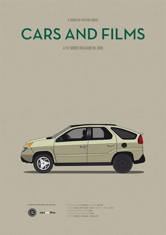 These Posters Are About Cars and Films