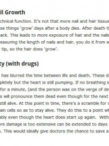 10 Body Functions That Continue To Work After Death
