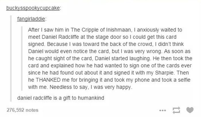 Proof That Daniel Radcliffe Is Awesome