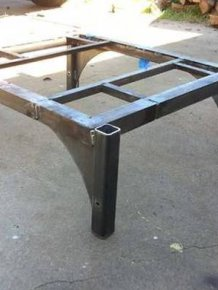 Scrap Metal Turned Into A Cool Barbecue Smoker