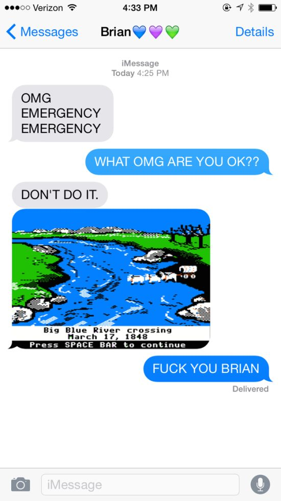 Texts That Would Only Make Sense To 90s Kids