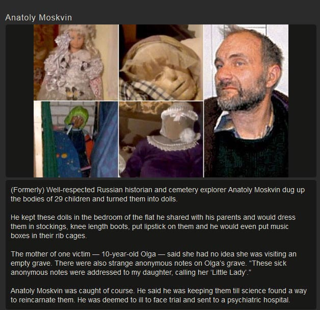 Creepy Stories About Dolls