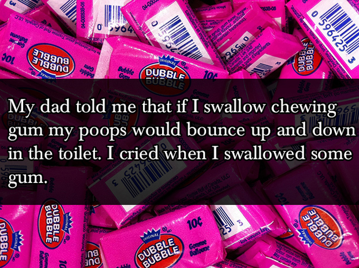 Cruel But Hilarious Lies Parents Tell Their Kids