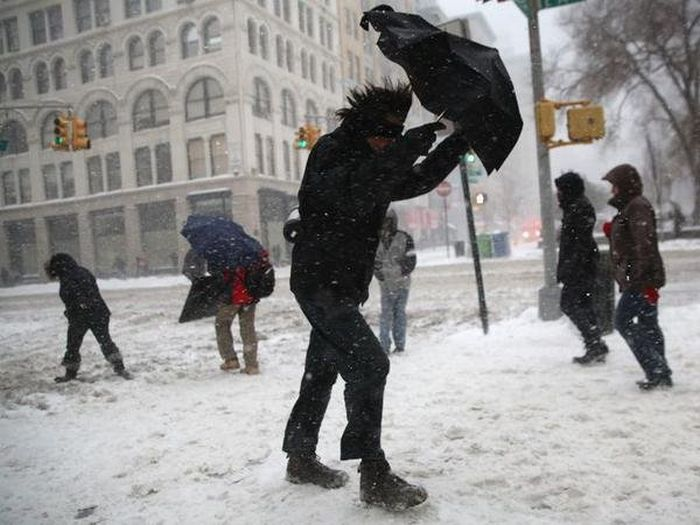 Winter Storm Juno Has Covered The East Coast In Snow