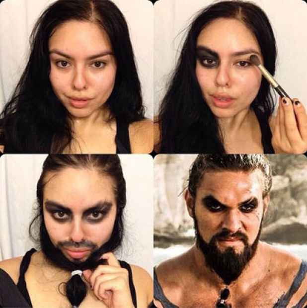 "The Most ""Impressive"" Celebrity Makeup Makeovers"
