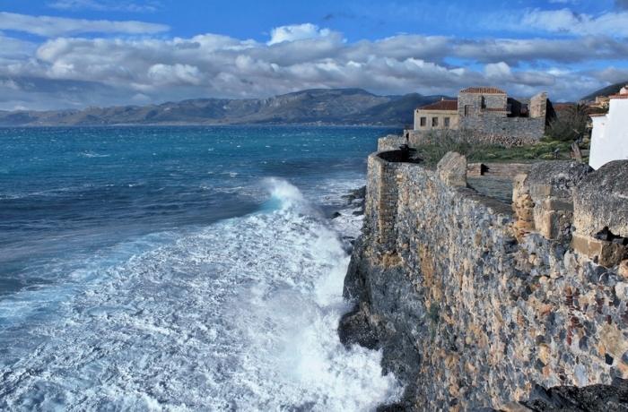 Monemvasia Is A Hidden Town In Greece