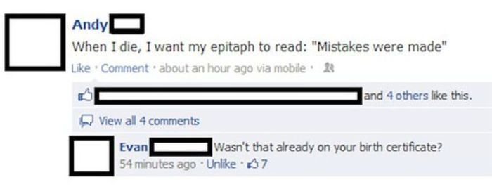 Insanely Funny Insults From The Internet