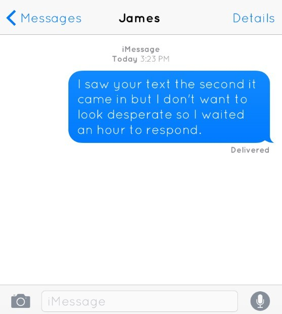 If We Sent Honest Texts To The Person We Want To Date