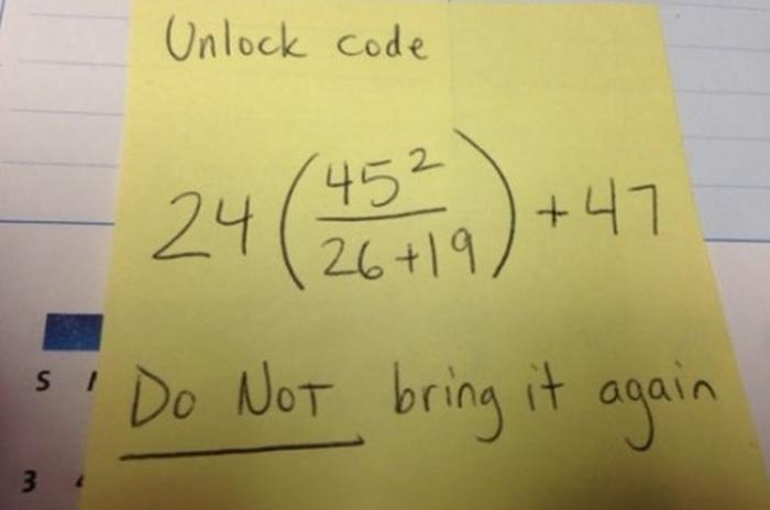 That's One Way To Teach Math