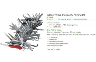 Hilarious Amazon Reviews For A Giant Swiss Army Knife