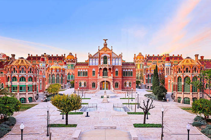 Barcelona Is Home To The Most Beautiful Hospital