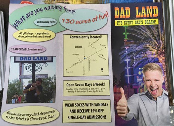 Take A Vacation At Dad Land