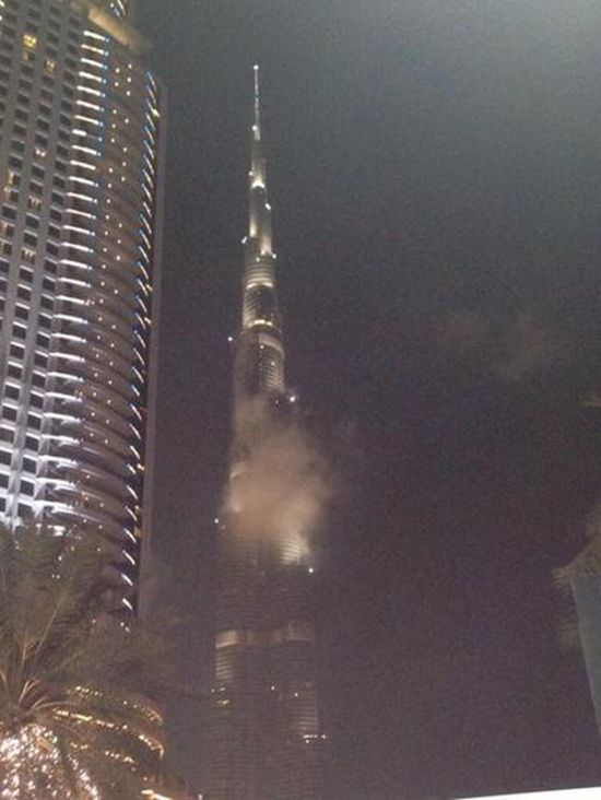 It Turns Out The Burj Khalifa Wasn't Really On Fire