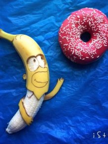 This Artist Turns Bananas Into Masterpieces